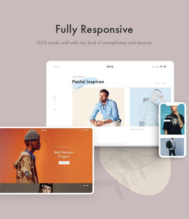 QOS - Fashion WooCommerce WordPress Theme - 1