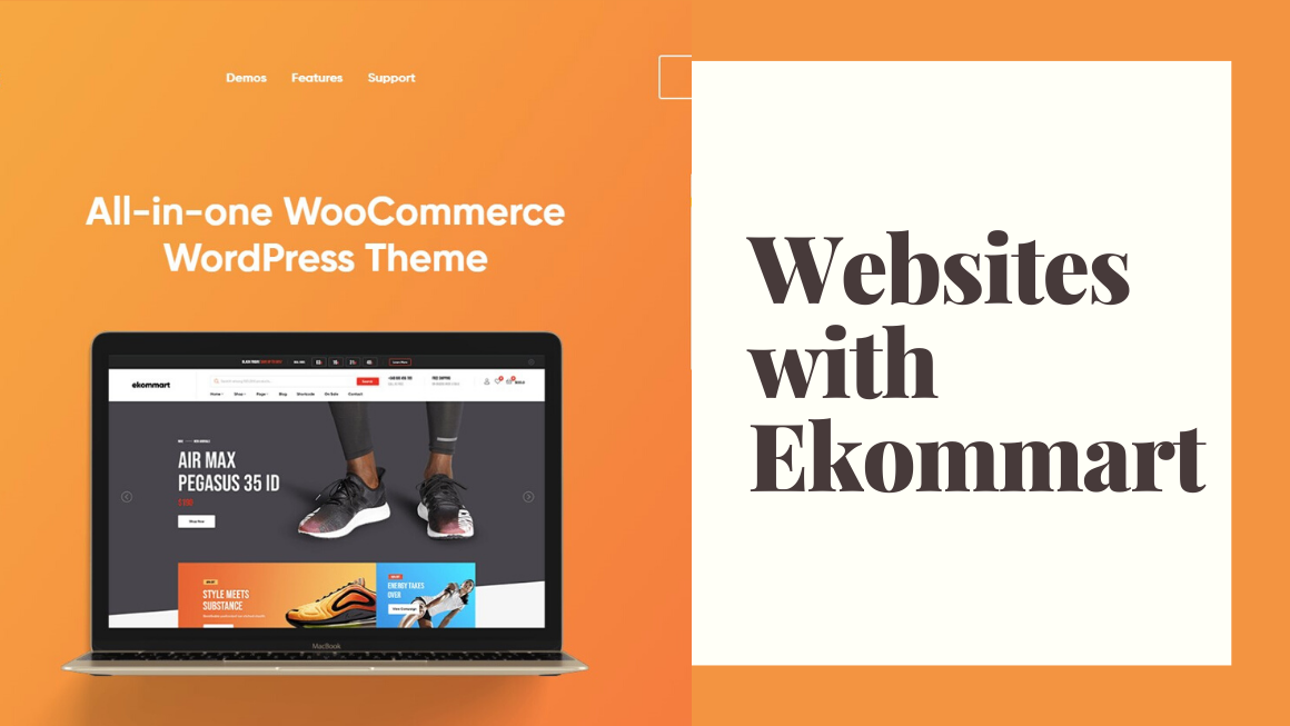 Websites with Ekommart