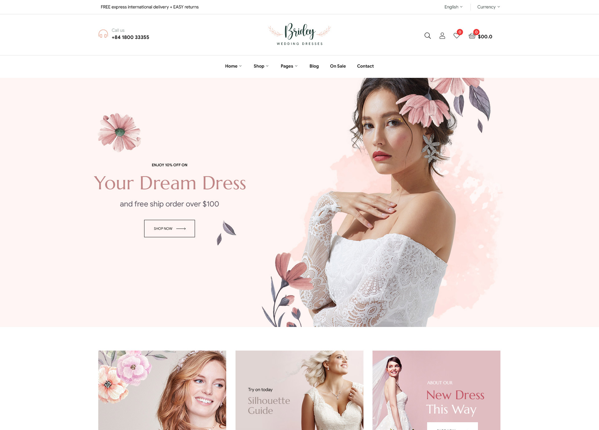 Bridey-Wedding-Bridal-Dresses-WordPress-Theme-