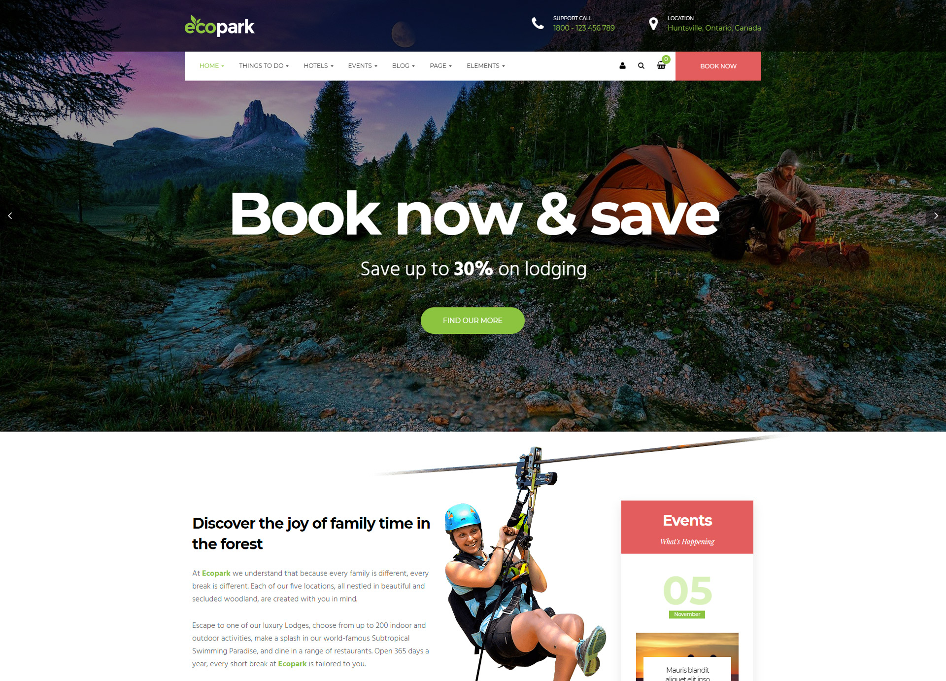 Ecopark-Travel-Booking-WordPress-Theme