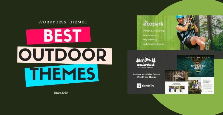 best outdoor wordpress themes