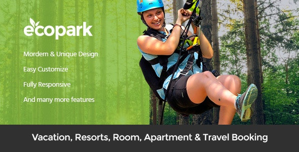 ecopark park outdoor wordpress theme