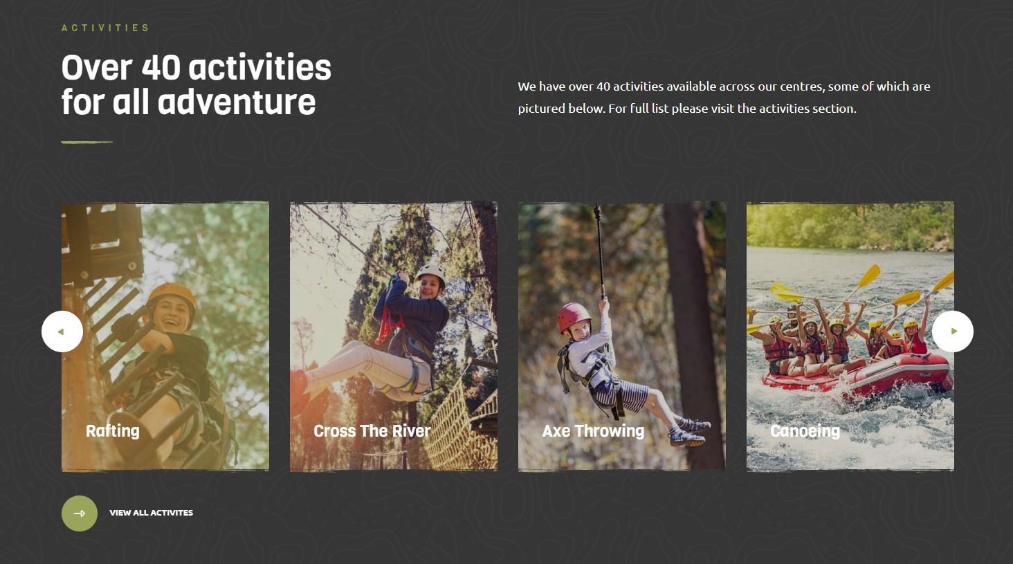 winwood activities theme