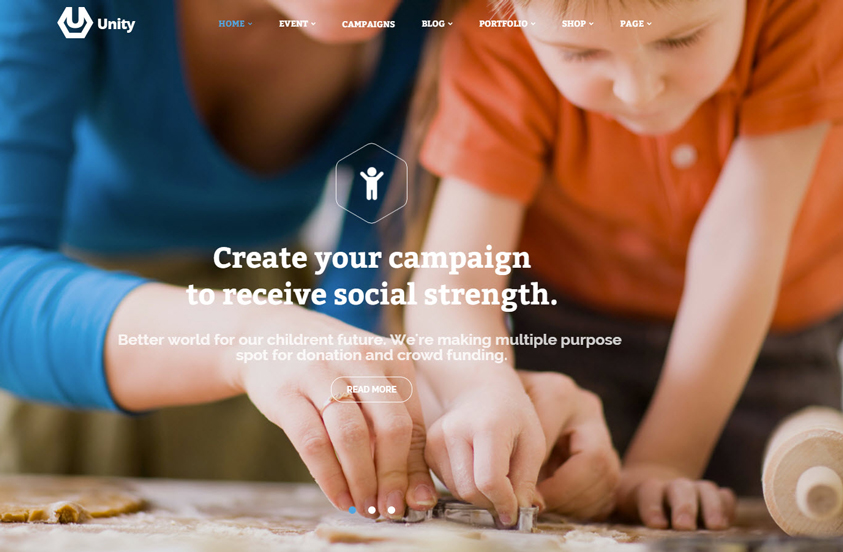 Unity---WordPress-Crowdfunding-Theme