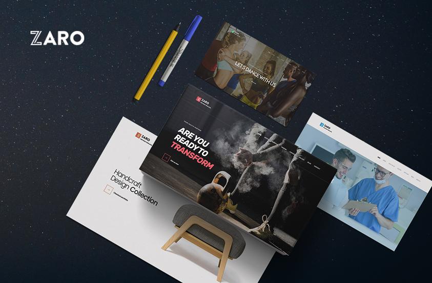 zaro-multipurpose-one-page-wordpress-theme