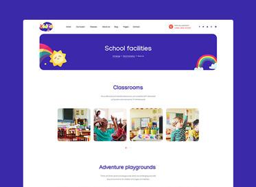 5. Kidzo school facilities showcase education wp theme