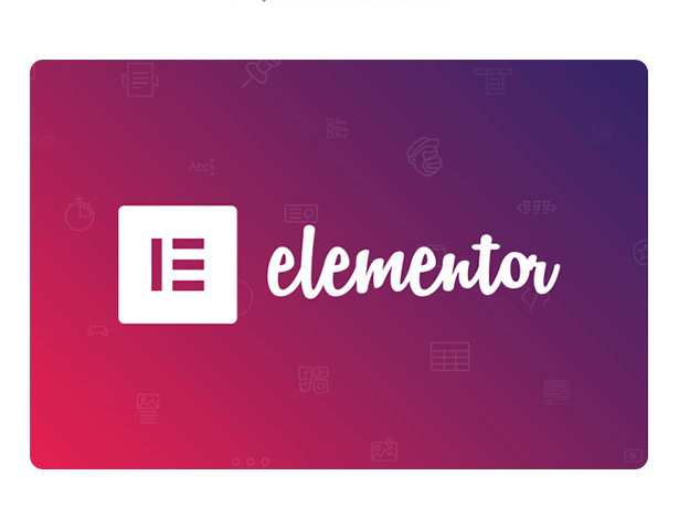 Built with Elementor Page Builder wordpress