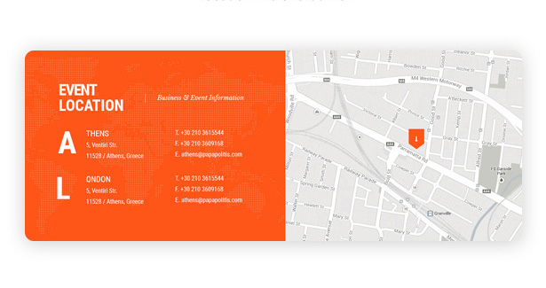 Event Venues Mapping vetex events wordpress theme