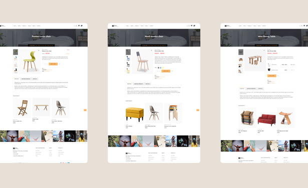 Furniture Product Page for WooCommerce