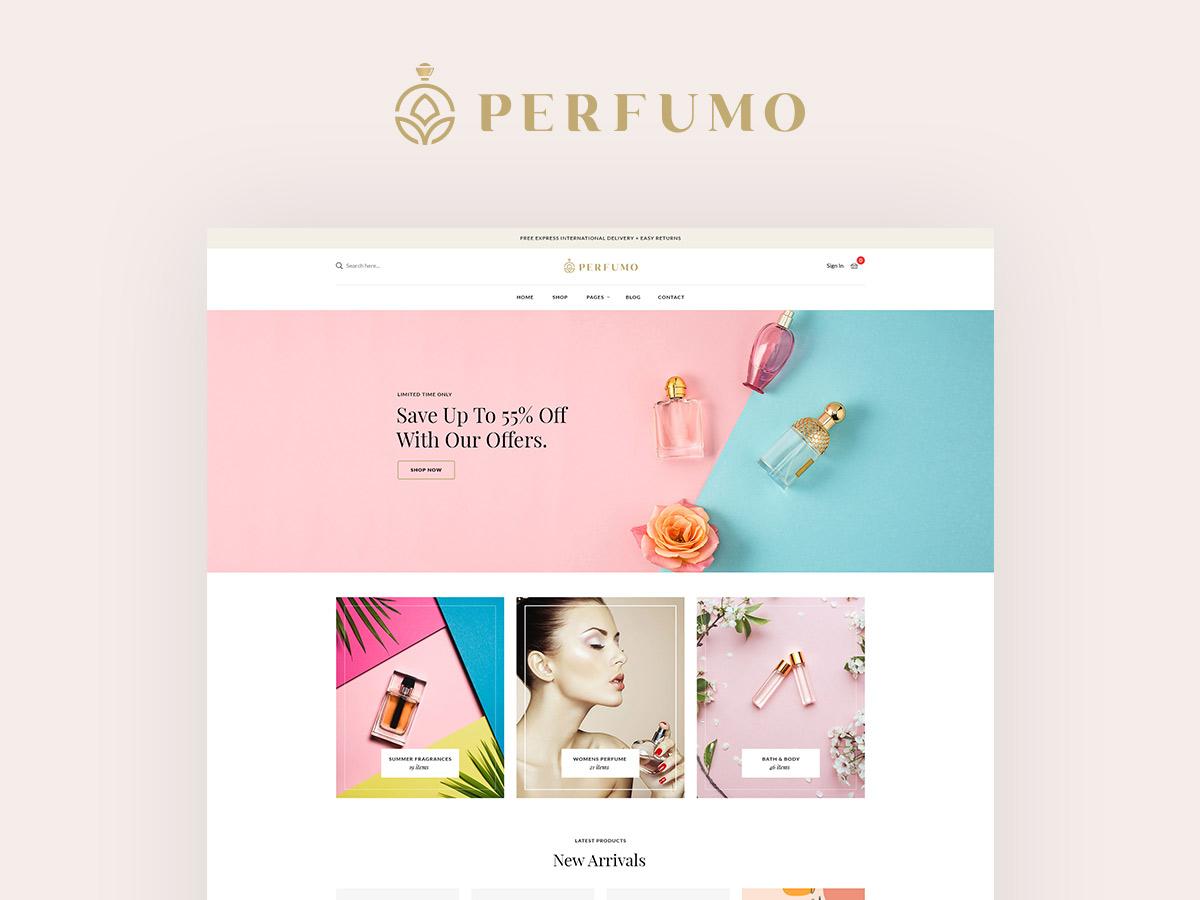 Perfumo - Perfume Shop WordPress Theme