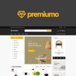 Premiumo shopping woocommerce wordpress theme preview image
