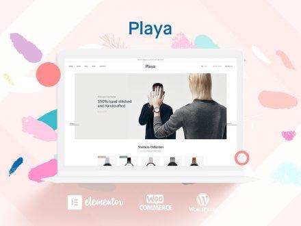 playa fashion online wordpress theme preview