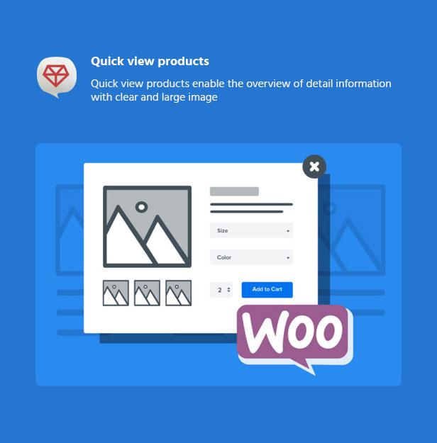 premiumo Woocommerce wordpress theme quickview product