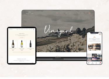 responsive mobile optimization for wine shop - bonesto
