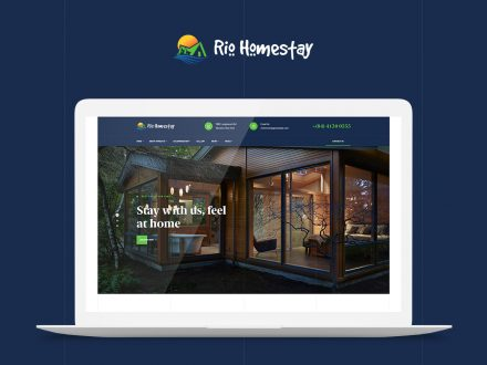 rio homestay single property wordpress theme