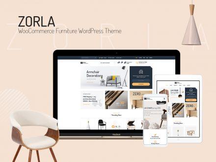 zorla furniture woocommerce theme